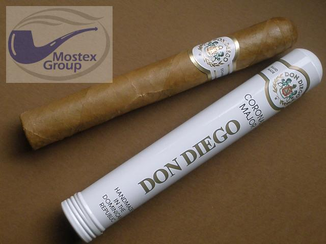 doutníky Don Diego 10 Coronas Major Tubes