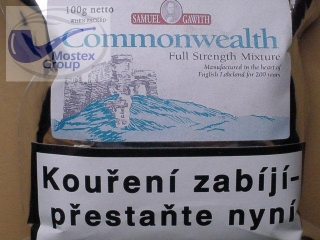dýmkový tabák Samuel Gawith Commonwealth Mixture 100g